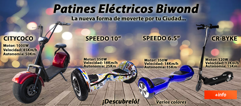Destacado Patines Electricos