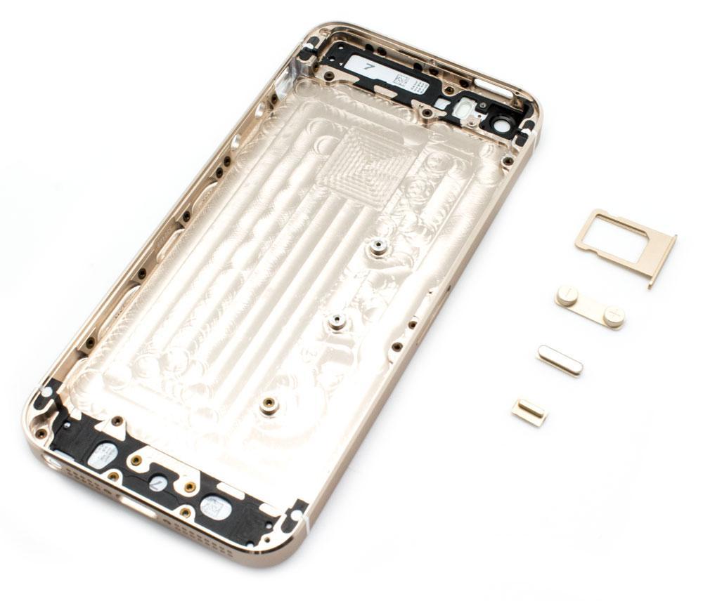 f3edda177f1 Carcasa Trasera iPhone 5S Bronce > Smartphones > Repuestos ...