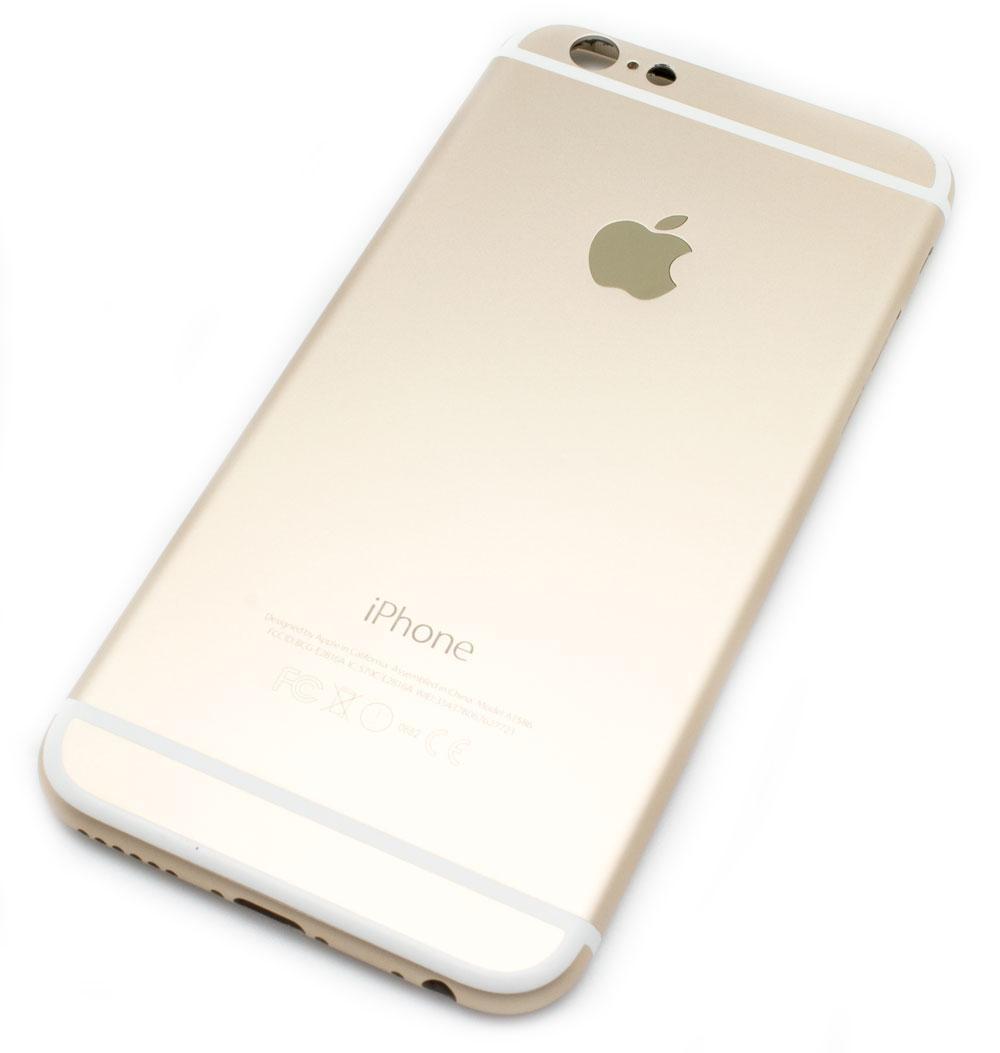 70bc30d4415 Carcasa Trasera iPhone 6 Bronce > Smartphones > Repuestos ...