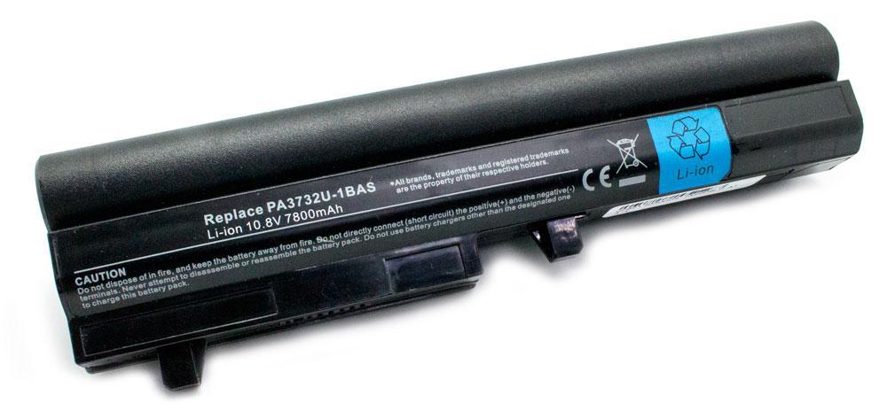 Toshiba 6600MAH MINI NB200, SATELITE NB200 (NEGRA)