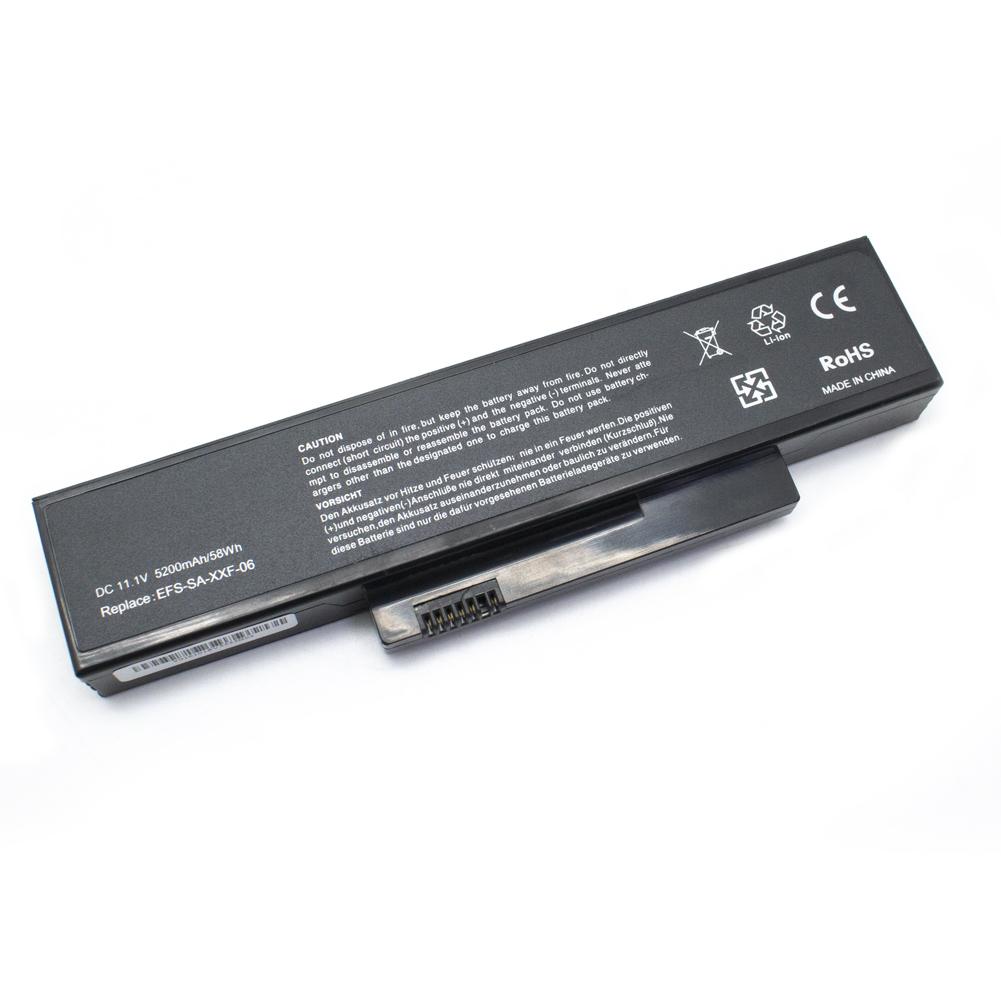 Fujitsu 5200mAh ESPRIMO MOBILE V5505, V5535, V5545