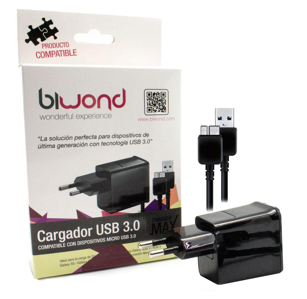 Cargador Smartphone MicroUSB 3.0
