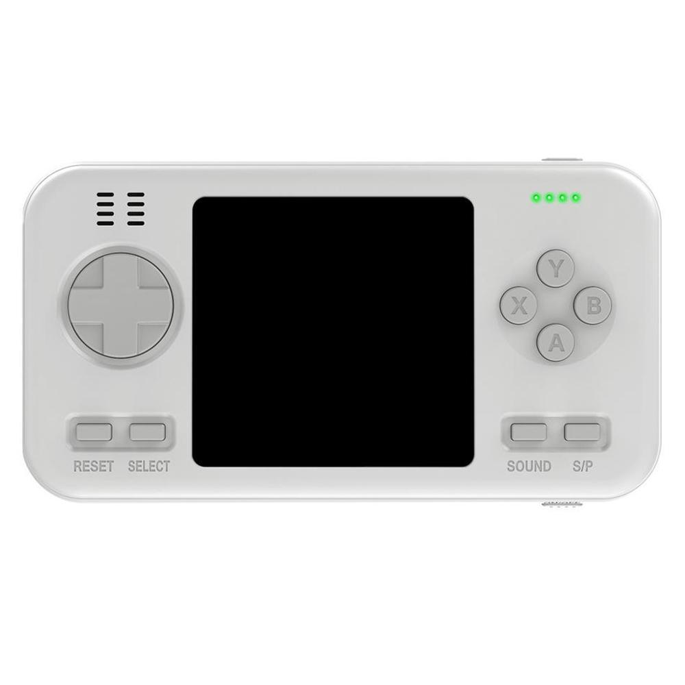 Consola Portatil + Powerbank 416 Juegos Blanco
