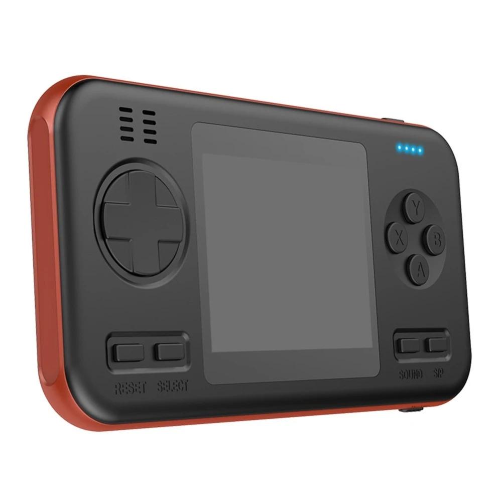 Consola Portatil + Powerbank 416 Juegos Naranja/Negro