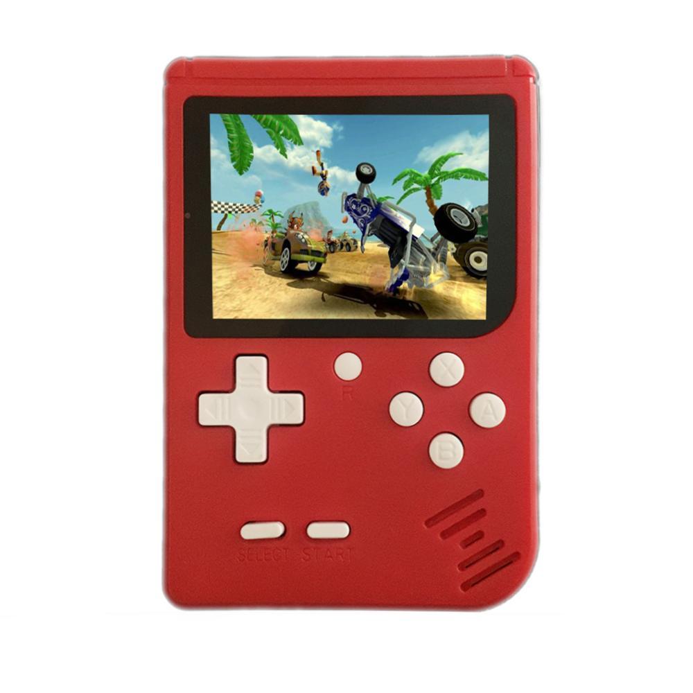 Consola Clásica Portatil 400 Juegos Rojo