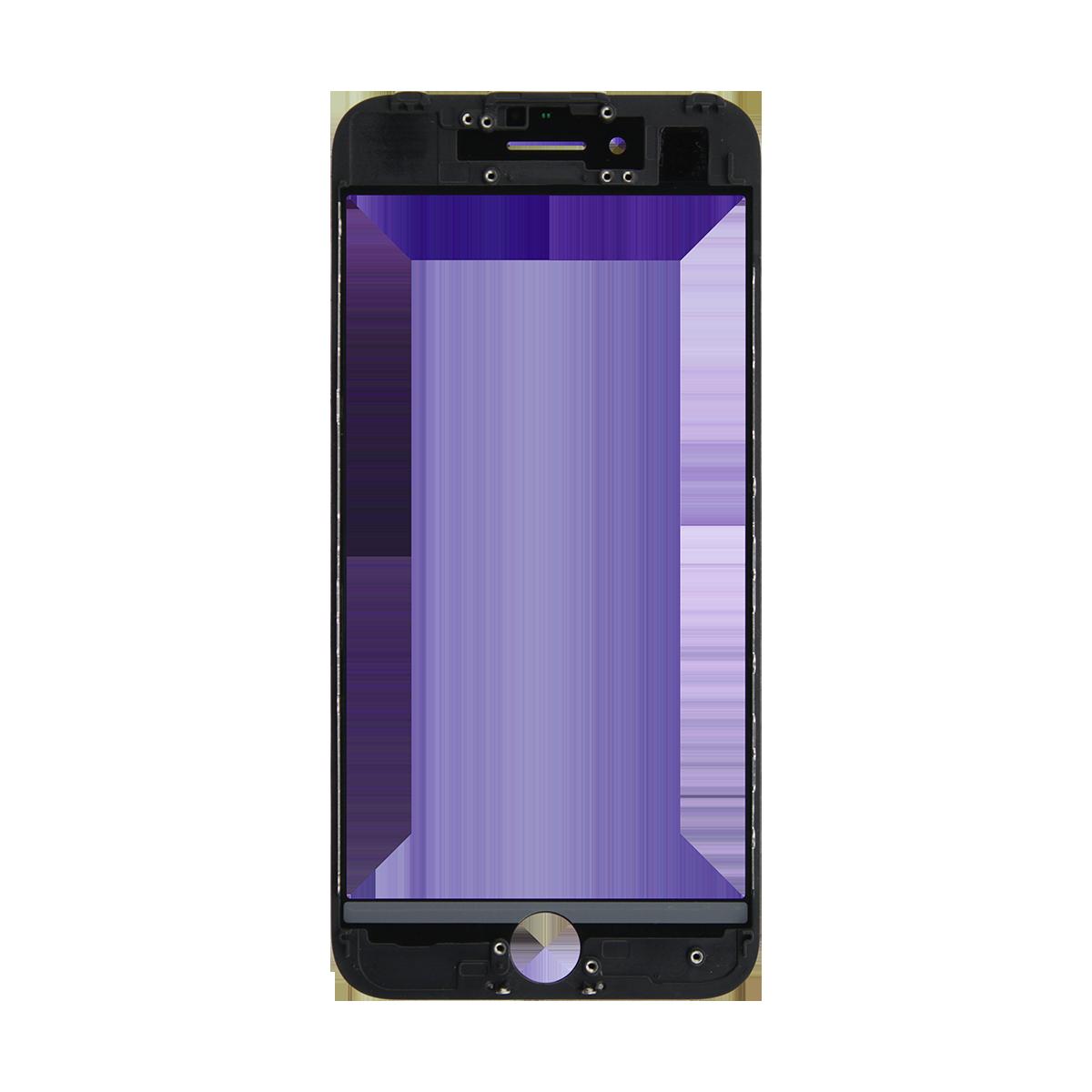 Cristal Pantalla+Marco iPhone 7 Negro > Smartphones > Repuestos ...