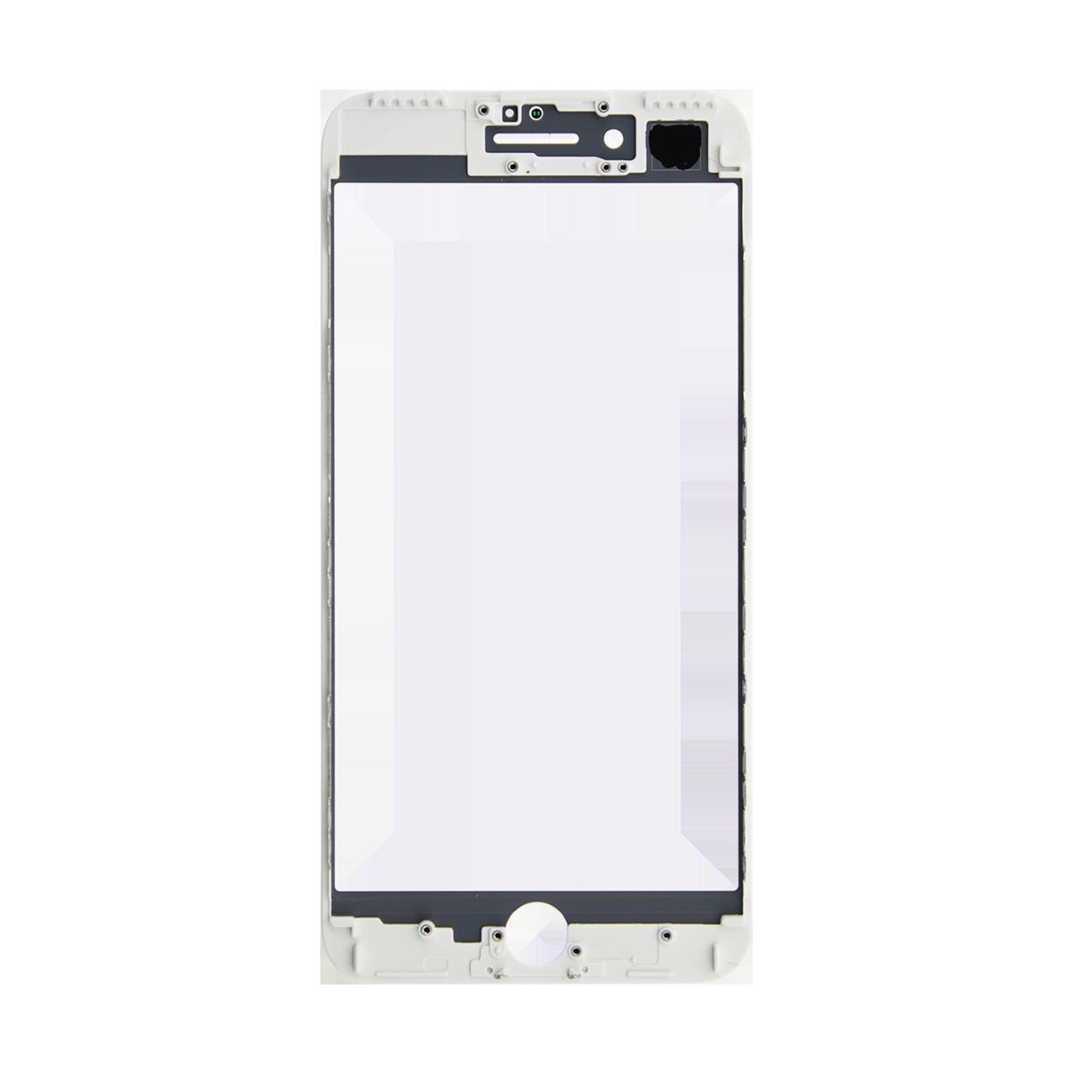 Cristal Pantalla+Marco iPhone 7 Plus Blanco > Smartphones ...