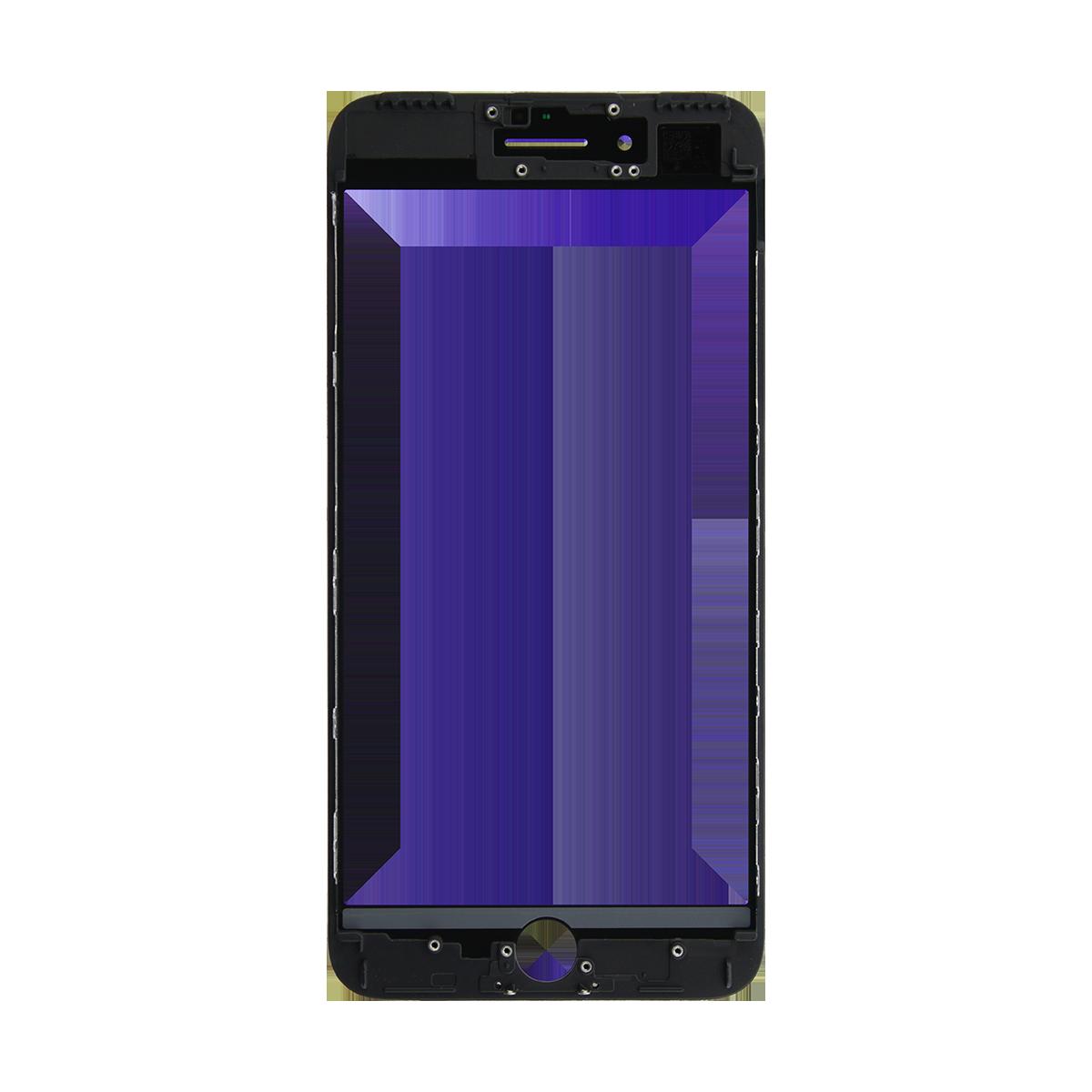 Cristal Pantalla+Marco iPhone 7 Plus Negro > Smartphones > Repuestos ...
