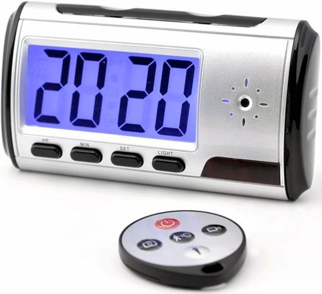 Reloj Despertador Espía