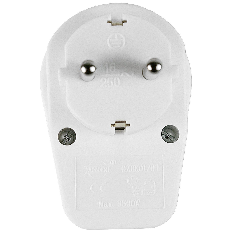 Enchufe con interruptor maxprotect mod ep606 biwond - Enchufe con usb ...