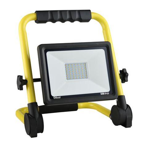 Foco LED 50W 6500K con Soporte Plegable ELBAT