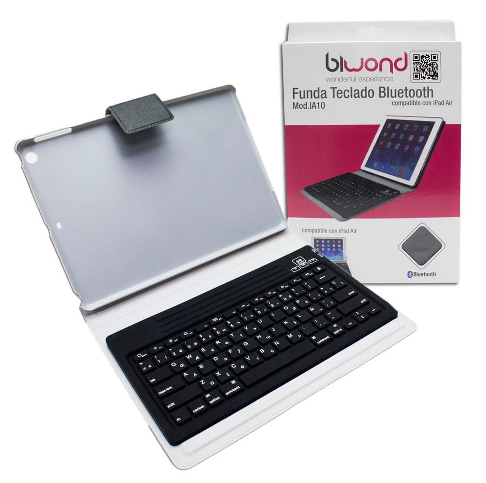 Funda teclado bluetooth ipad air rosa biwond tablets accesorios tablets ipad air - Funda teclado bluetooth ...