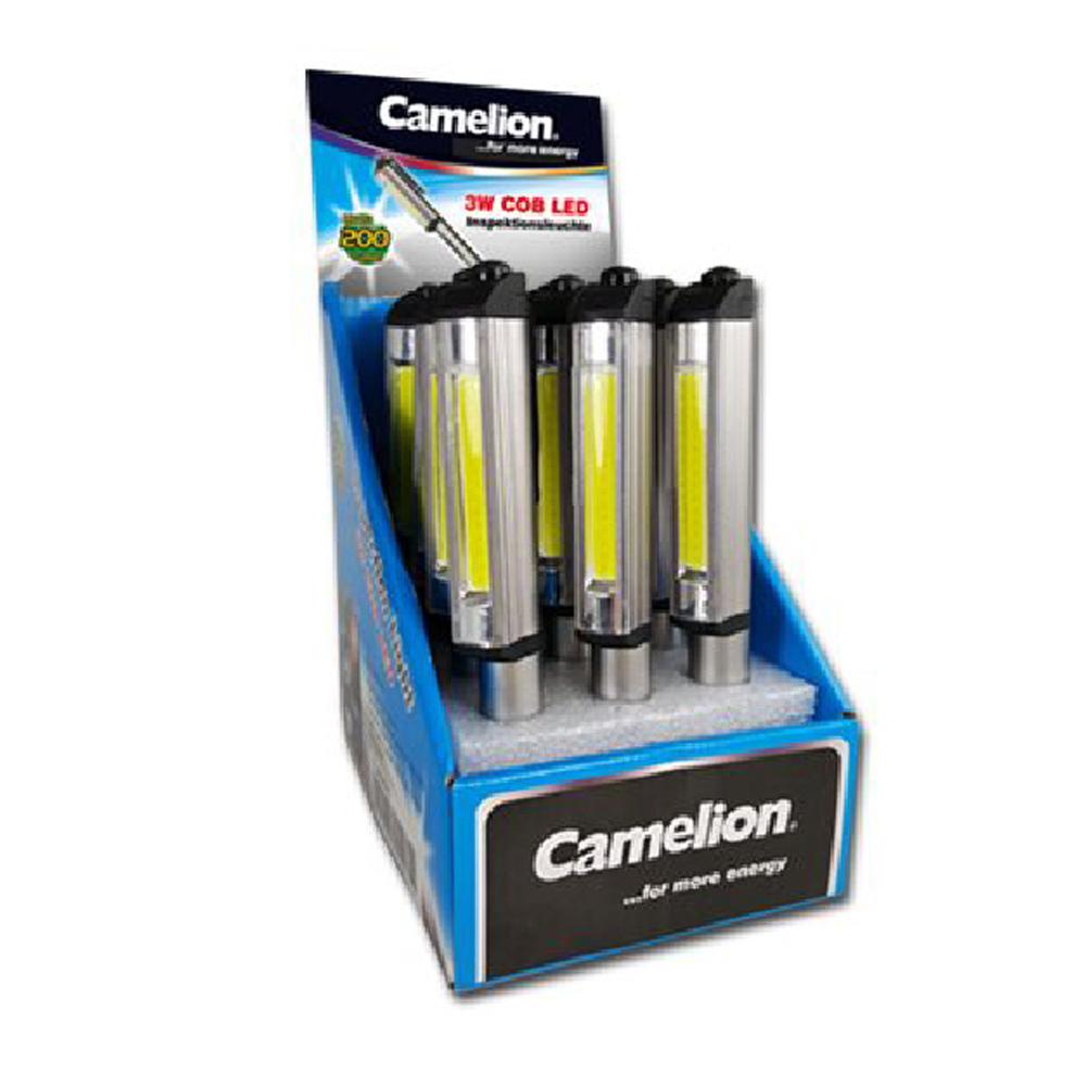Linterna Profesional Inspección LED 3W COB Camelion