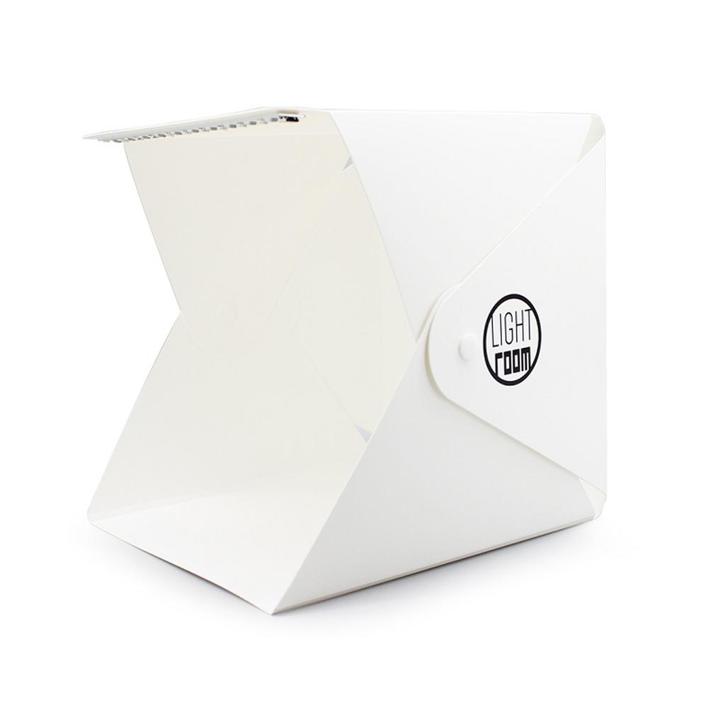Mini Caja Luz Plegable Estudio Fotografía Panel LED