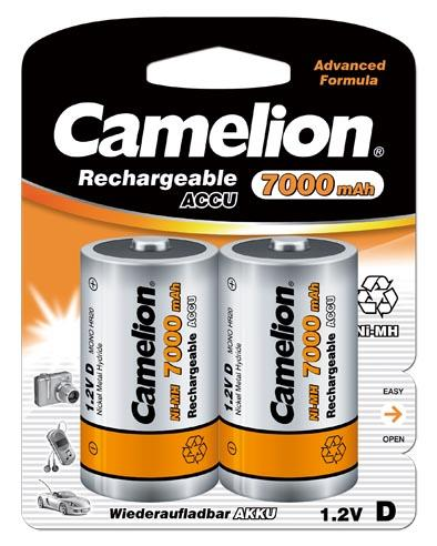Recargable D 7000mAh (2 pcs) Camelion