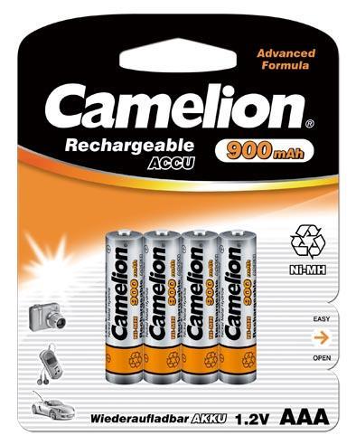 Recargable AAA 900mAh (4 pcs) Camelion