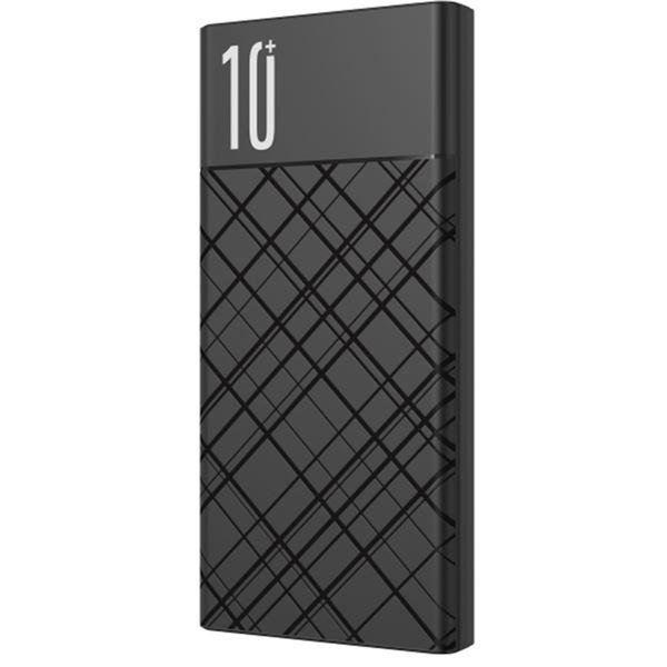 Powerbank PR110 10000 mAh USB + Tipo C QC 3.0 Negra XO
