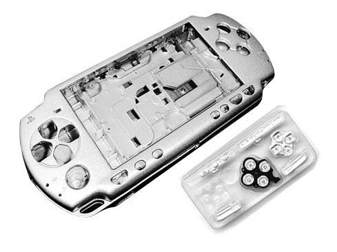 Carcasa Completa PSP 3000 Plata