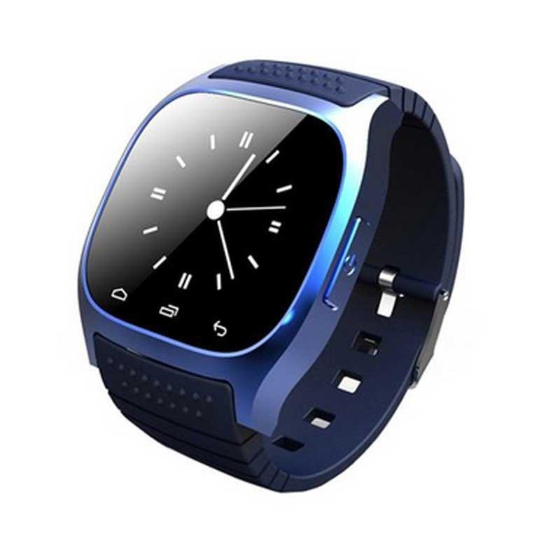 SmartWatch Sport M26 Bluetooth Azul
