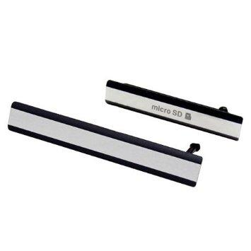 Tapa lector MicroSD y SIM Xperia Z2 Negro
