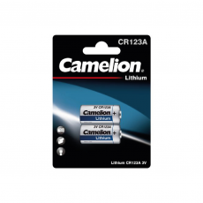Litio CR123A 3V (2 pcs) Camelion