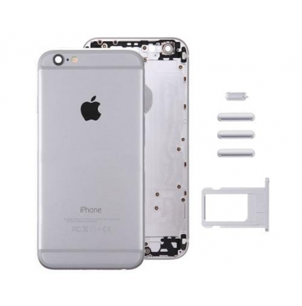 Carcasa Trasera iPhone 6 Plus Plata