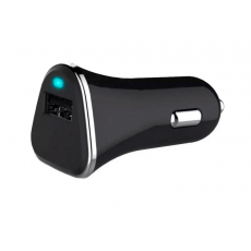 Cargador Coche USB Qualcom Quick Charge 3.0 Negro