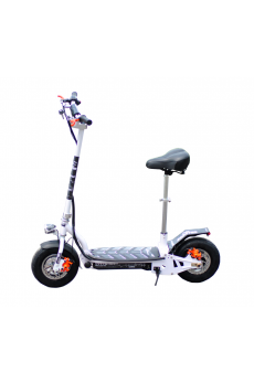 CityStreet 800W/36V/9aH/Litio Blanco Gran-Scooter