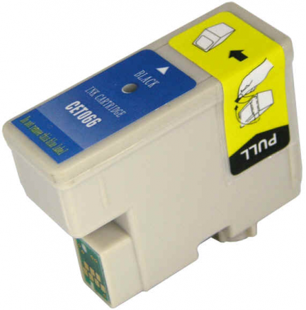 Cart. Epson T066 Negro 11ml (reman.)