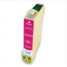 Cart. Epson T1813/T1803 Magenta 15ml (reman.)