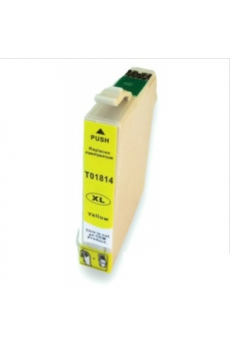 Cart. Epson T1814/T1804 Amarillo 15ml (reman.)