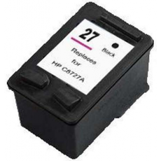Cart. HP (27) C8727A Negro 17ml (reman.)