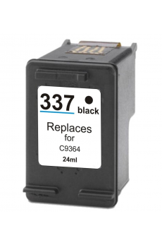 Cart. HP (337) C9364E Negro 18ml (reman.)