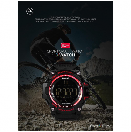 Smartwatch Deportivo Smart IOS/Android Negro