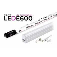 Tubo LED Integrado E600 60CM 8W 6500K Luz Fría 700LM Radiant LED