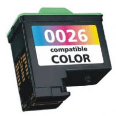 Cart. Lexmark 26 10N0026 Tricolor 15ml (reman.)