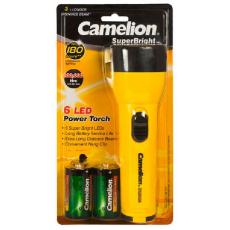 Linterna Superbright 6 LED Camelion