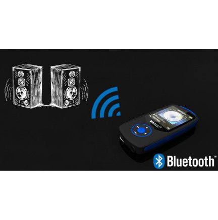 Reproductor MP3 Bluetooth 4Gb X06 Azul