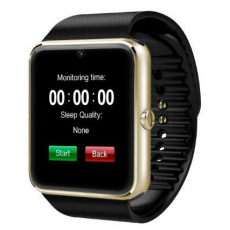 SmartWatch GT08 SIM+SD+BLUETOOTH Negro+Bronce