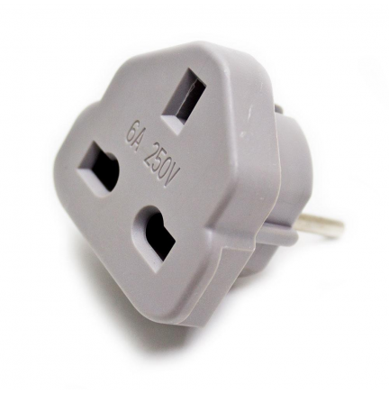 Adaptador corriente USA - Europa