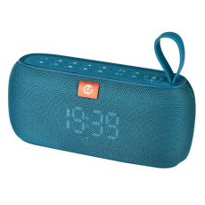 Altavoz Bluetooth Clock 10W Azul COOLSOUND