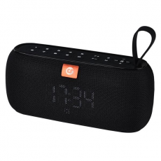 Altavoz Bluetooth Clock 10W Negro COOLSOUND