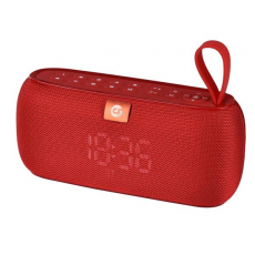 Altavoz Bluetooth Clock 10W Rojo COOLSOUND