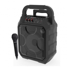 Altavoz Karaoke Bluetooth Party Boom 30W + Micrófono COOLSOUND