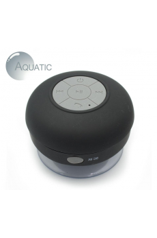 Reproductor Bluetooth Aquatic Negro