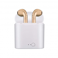 Mini Auriculares Bluetooth i7S (IOS/Android) Oro