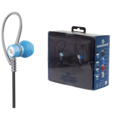 Auricular + Micro Sport V5 Bluetooth + Micro SD Azul Coolsound
