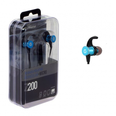 Auricular + Micrófono Z200 In-Ear Jack 3.5 mm Azul COOLSOUND