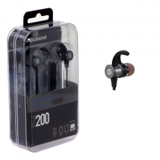 Auricular + Micrófono Z200 In-Ear Jack 3.5 mm Negro COOLSOUND