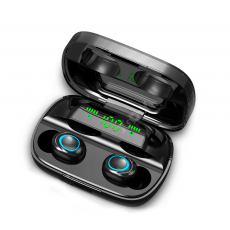 Mini Auriculares Bluetooth TWS-S11 LED (IOS/Android) Negro